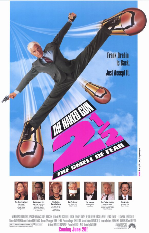 The Naked Gun 2½: The Smell of Fear kapak