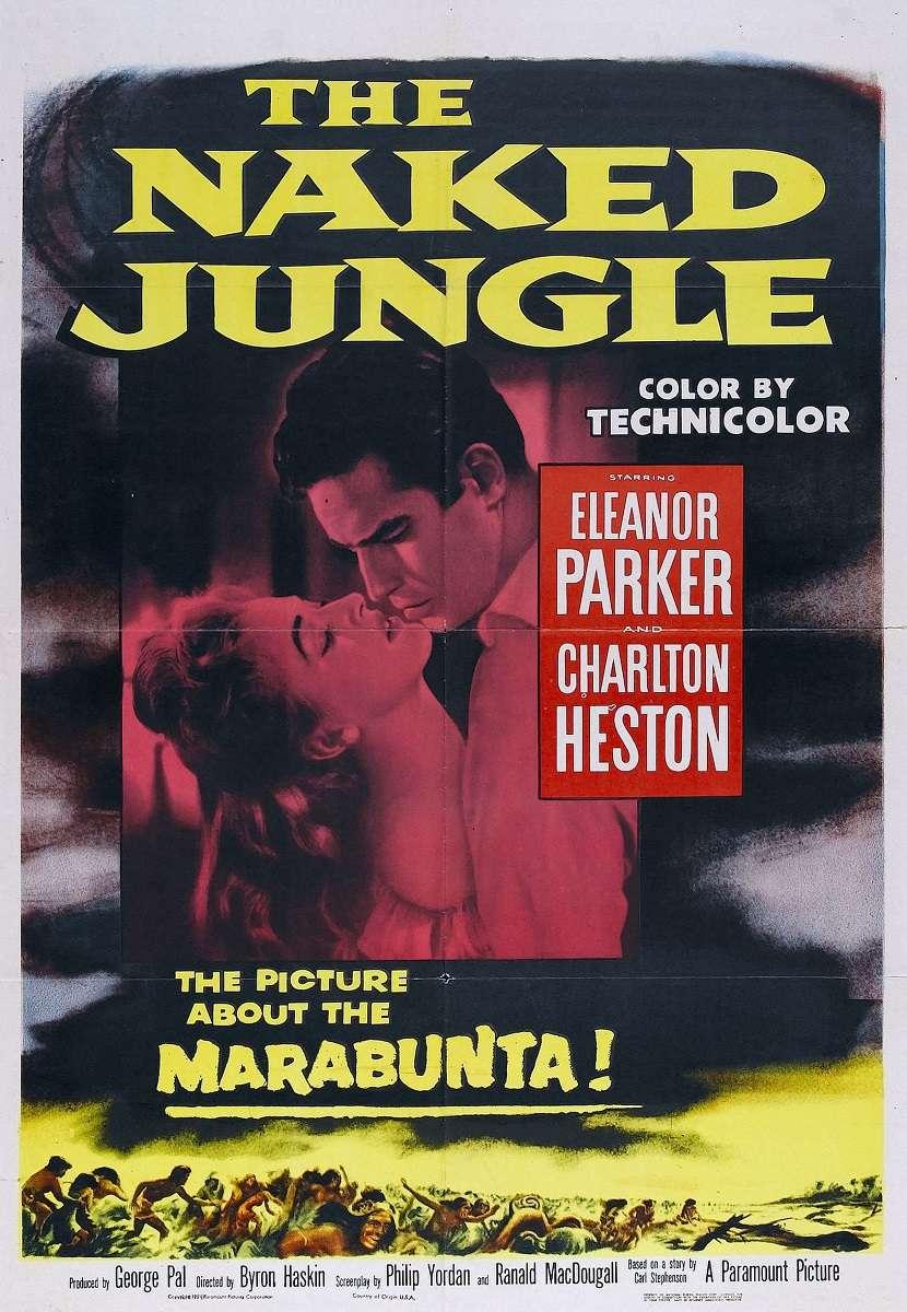 The Naked Jungle kapak