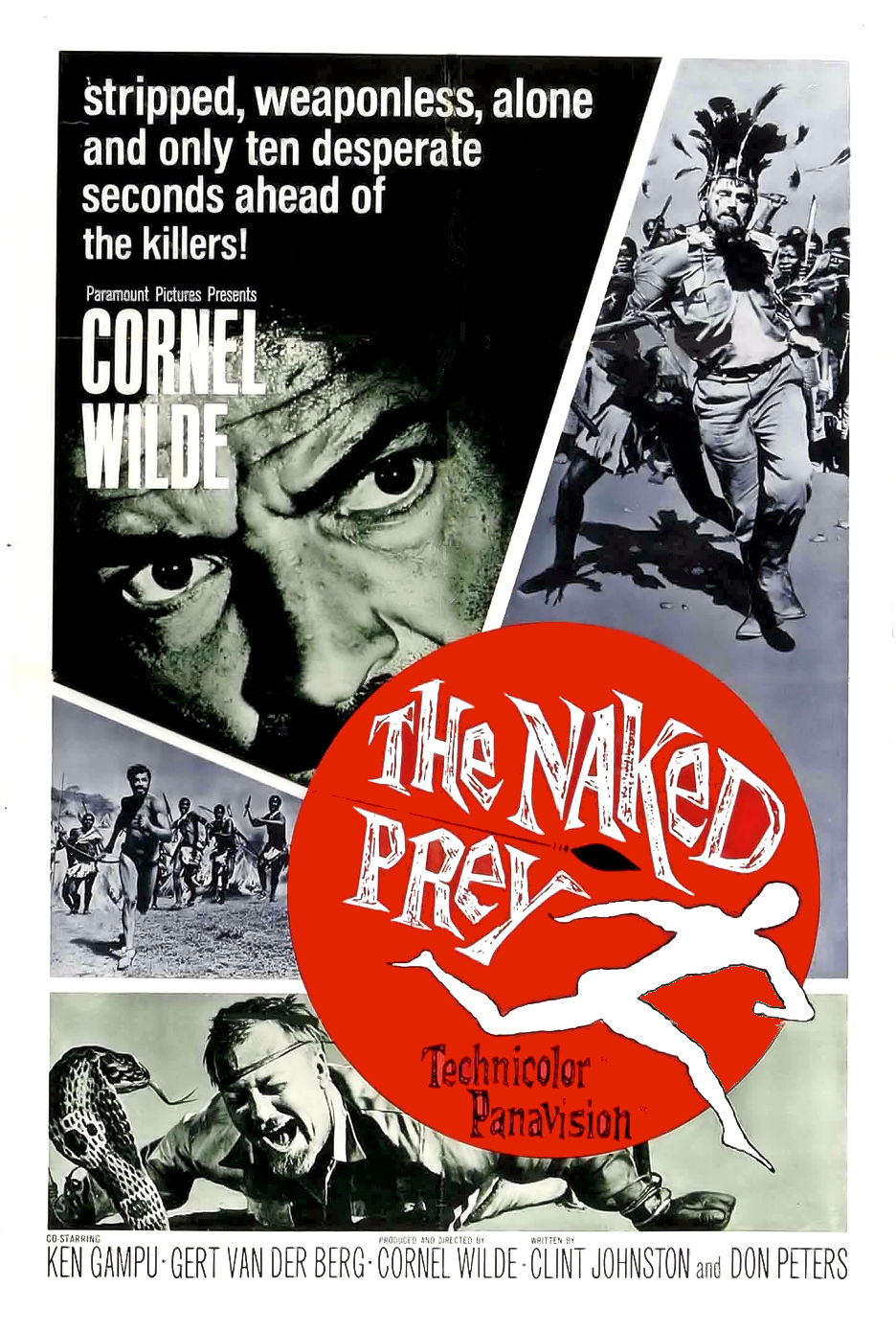 The Naked Prey kapak