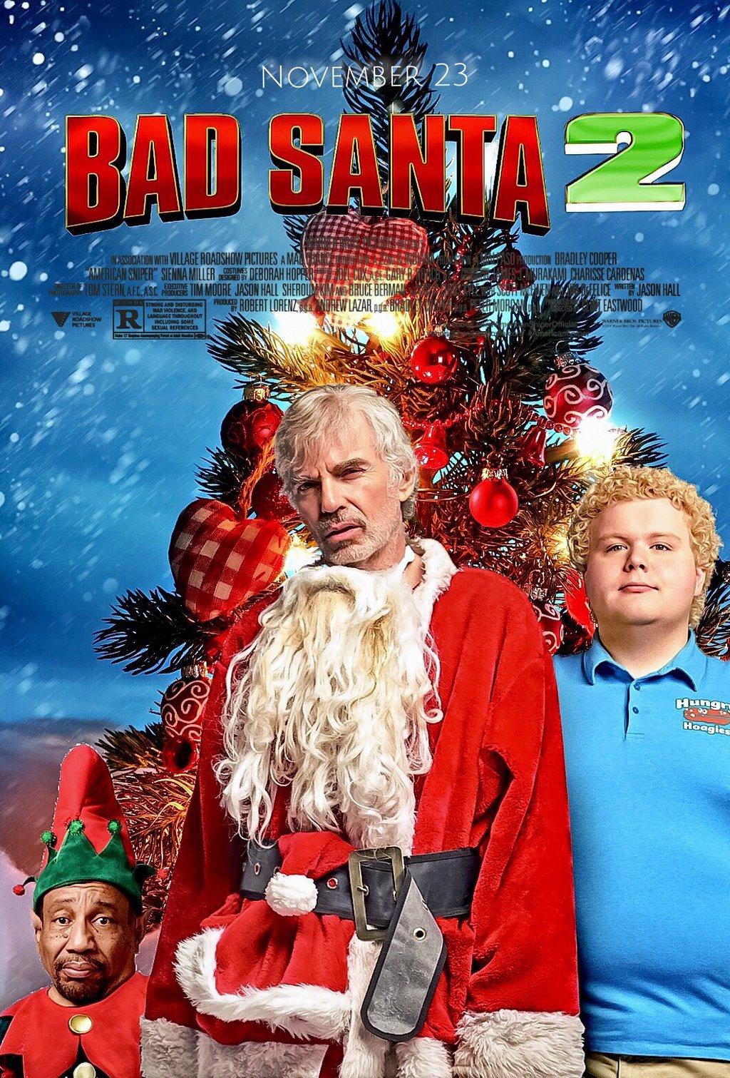 Bad Santa 2 kapak