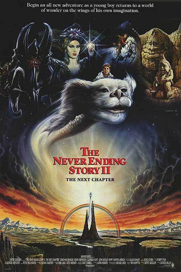 The NeverEnding Story II: The Next Chapter kapak