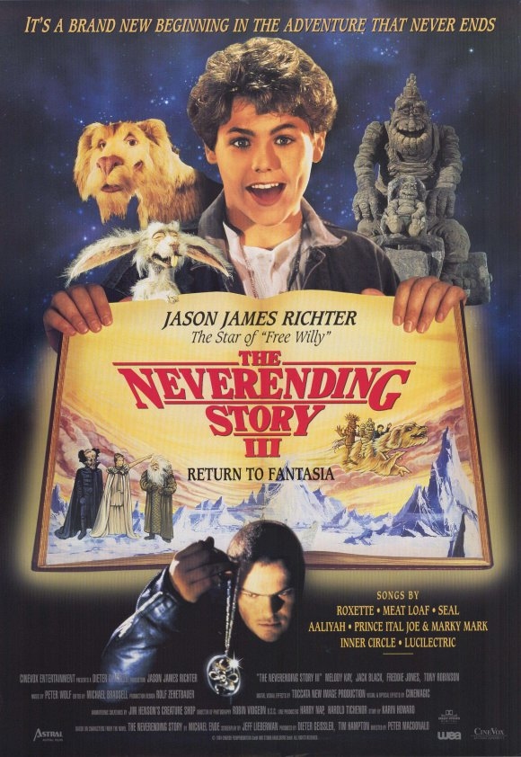The NeverEnding Story III kapak