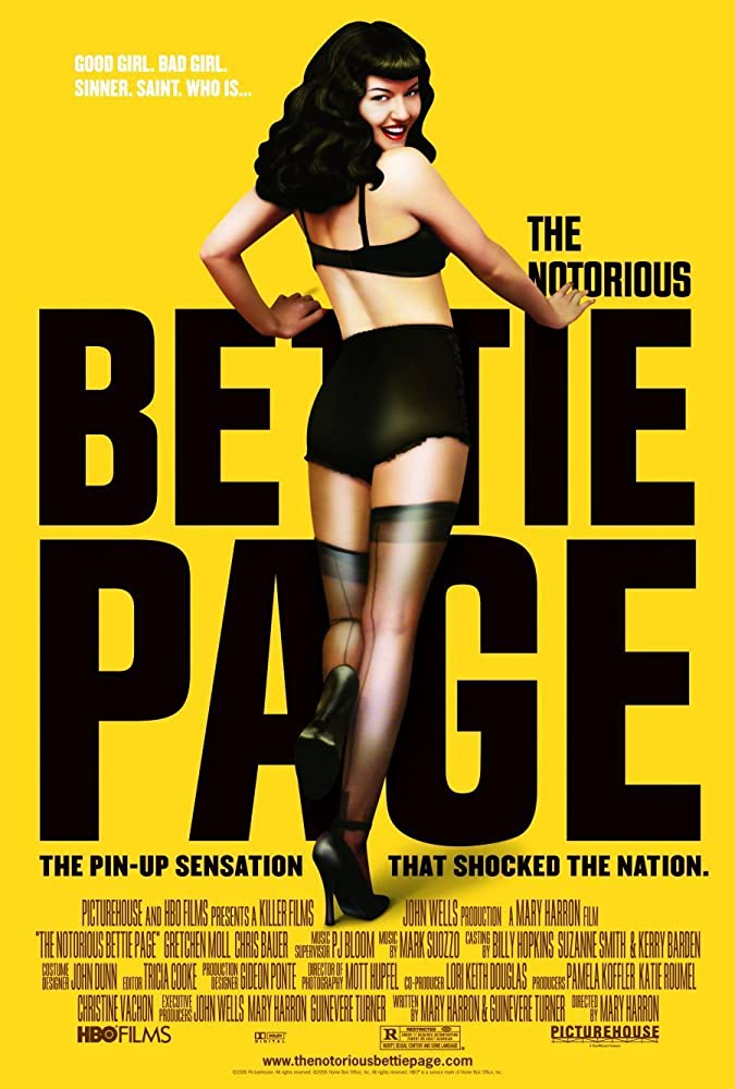 The Notorious Bettie Page kapak