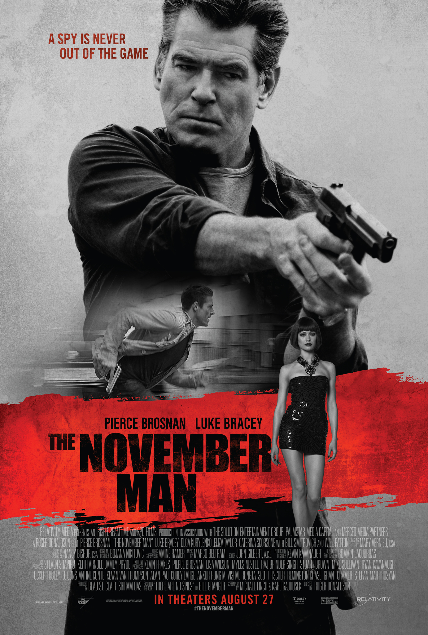 The November Man kapak