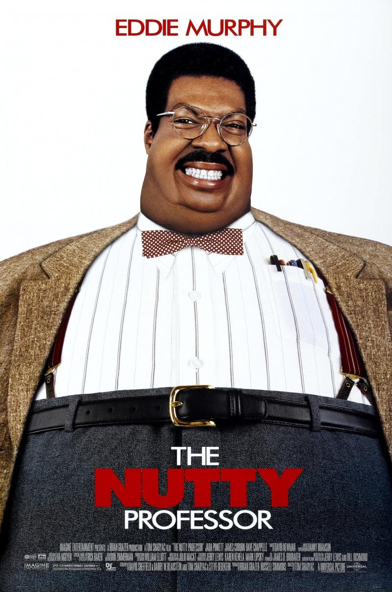 The Nutty Professor kapak