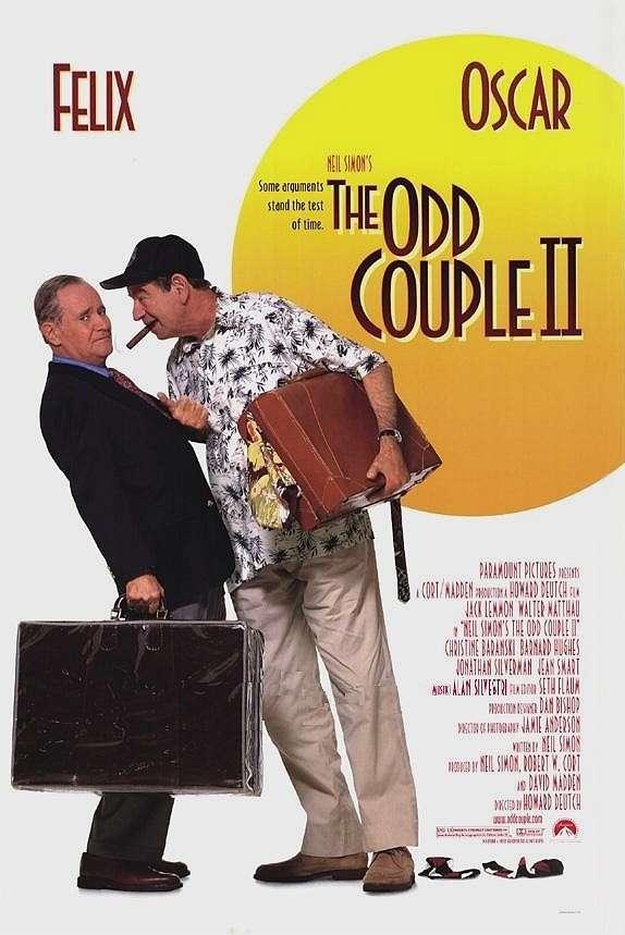 The Odd Couple II kapak