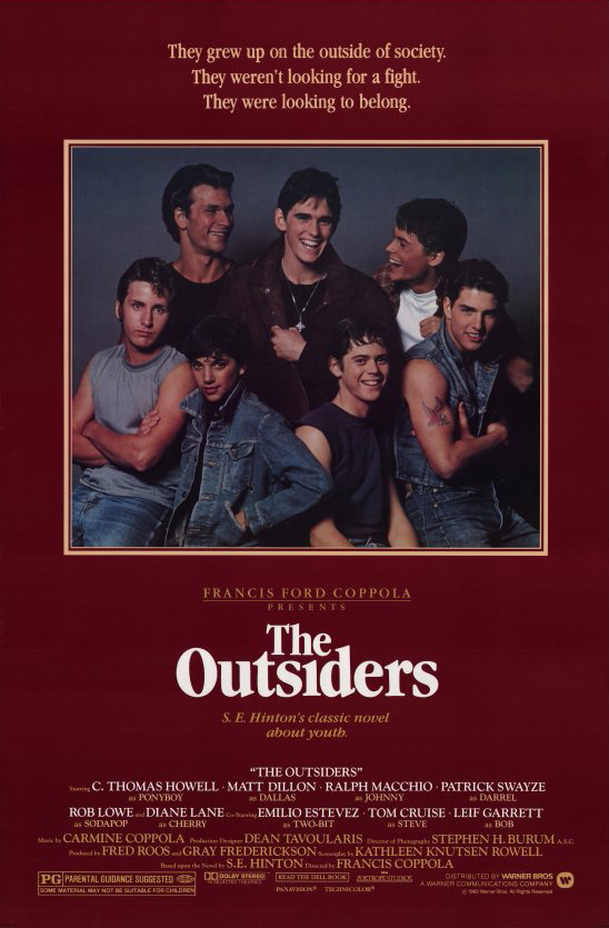 The Outsiders kapak
