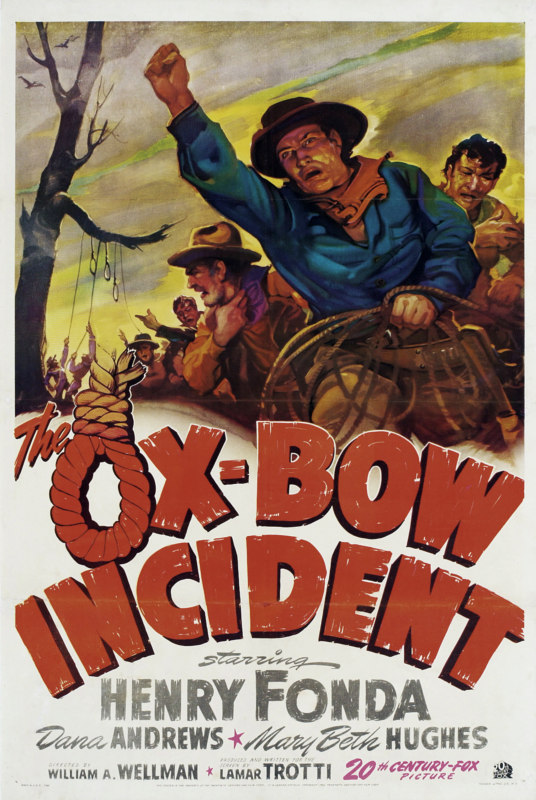 The Ox-Bow Incident kapak