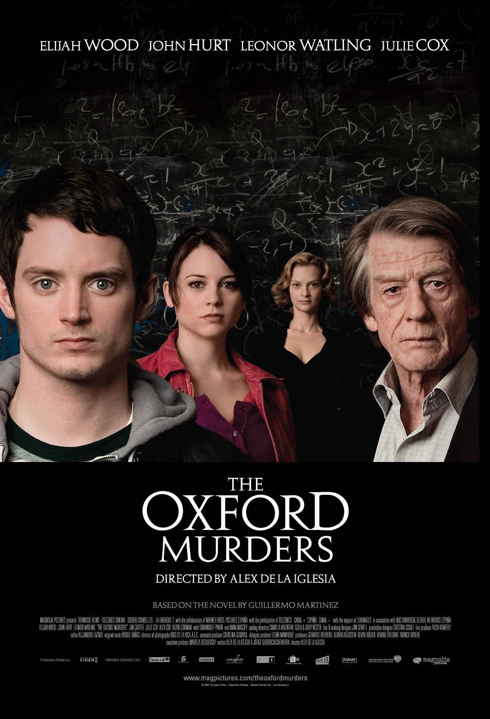 The Oxford Murders kapak