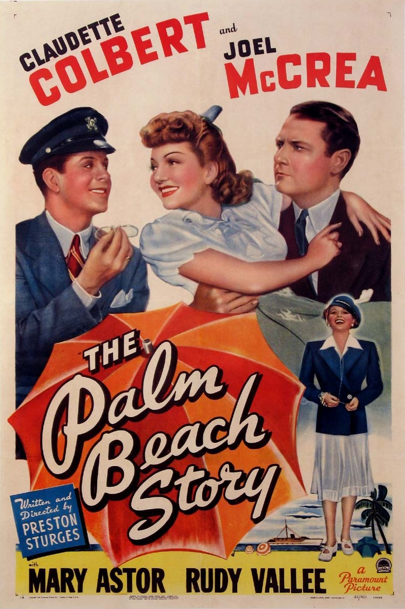 The Palm Beach Story kapak