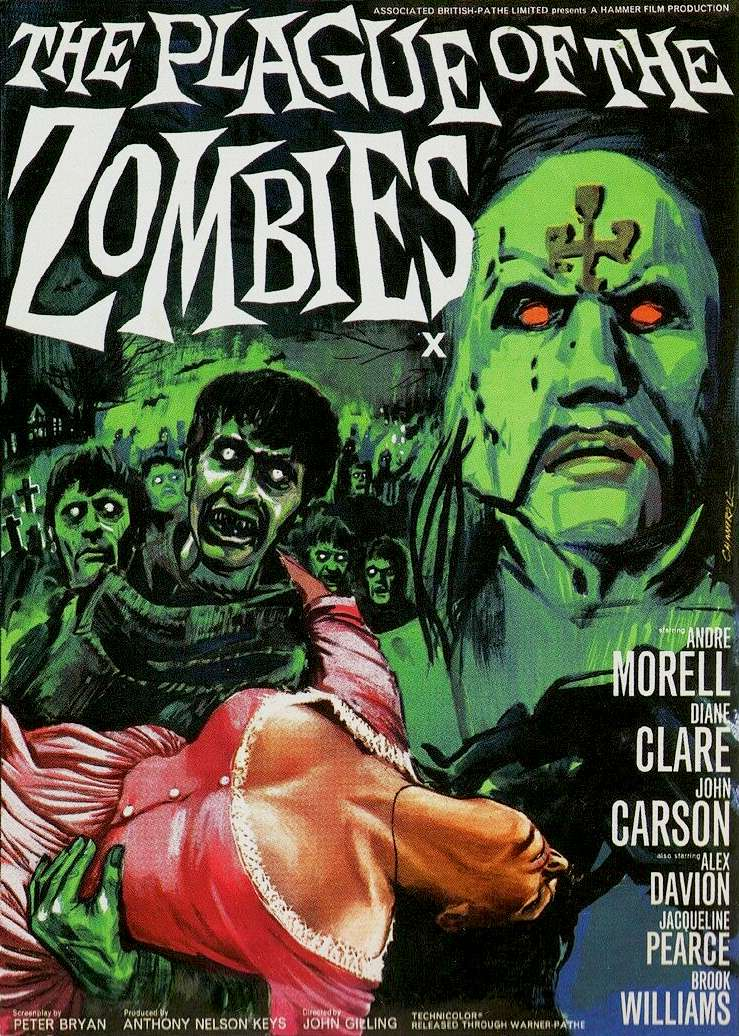 The Plague of the Zombies kapak