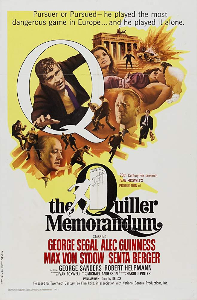 The Quiller Memorandum kapak