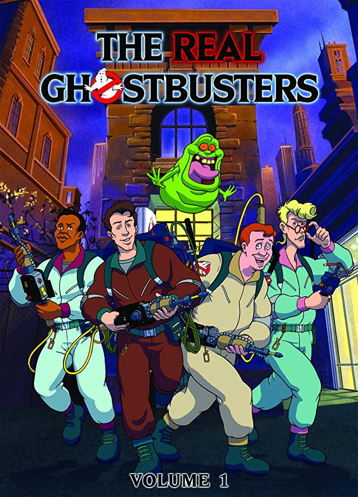 The Real Ghost Busters kapak