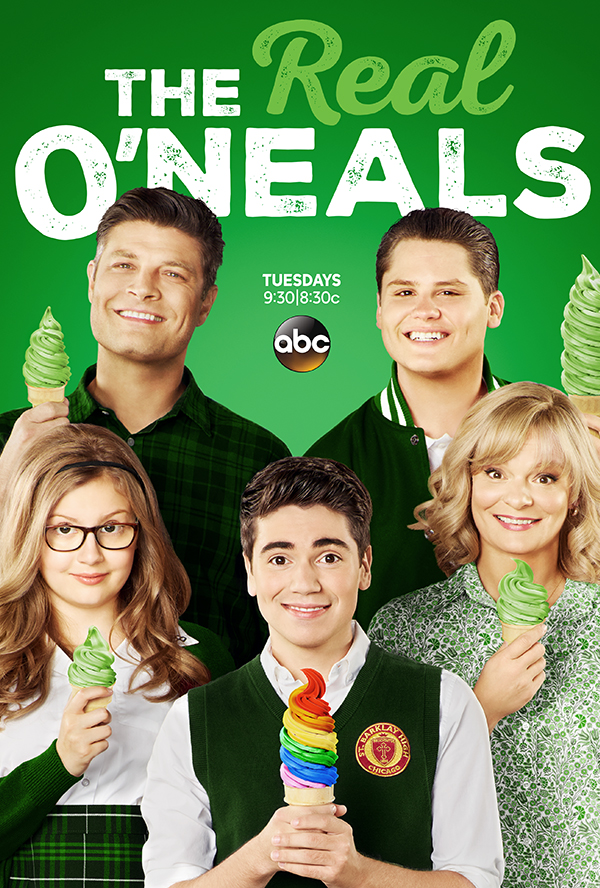 The Real O'Neals kapak