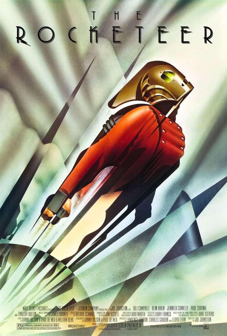 The Rocketeer kapak