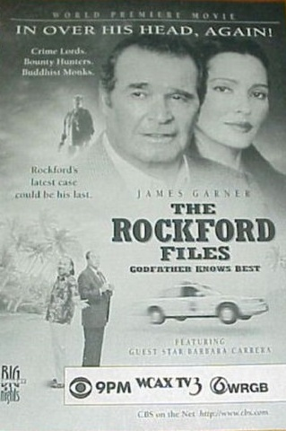 The Rockford Files: Godfather Knows Best kapak