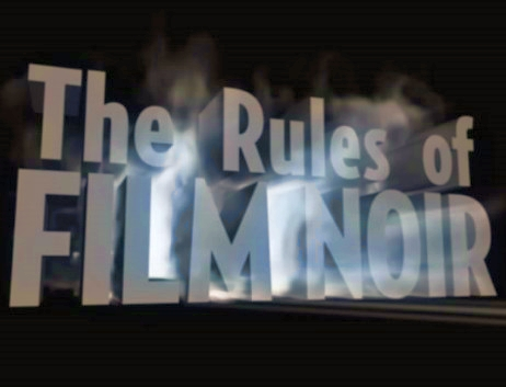 The Rules of Film Noir kapak