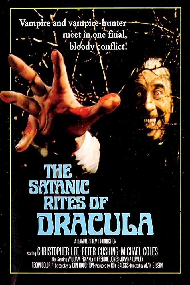The Satanic Rites of Dracula kapak