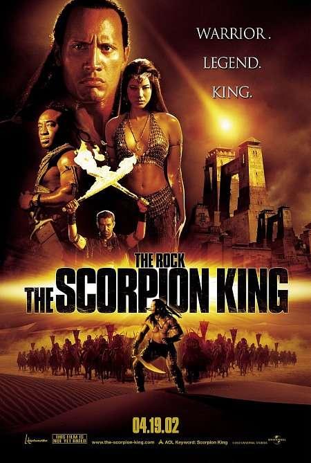 The Scorpion King kapak