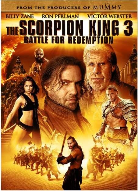 The Scorpion King 3: Battle for Redemption kapak
