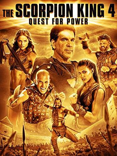 The Scorpion King 4: Quest for Power kapak