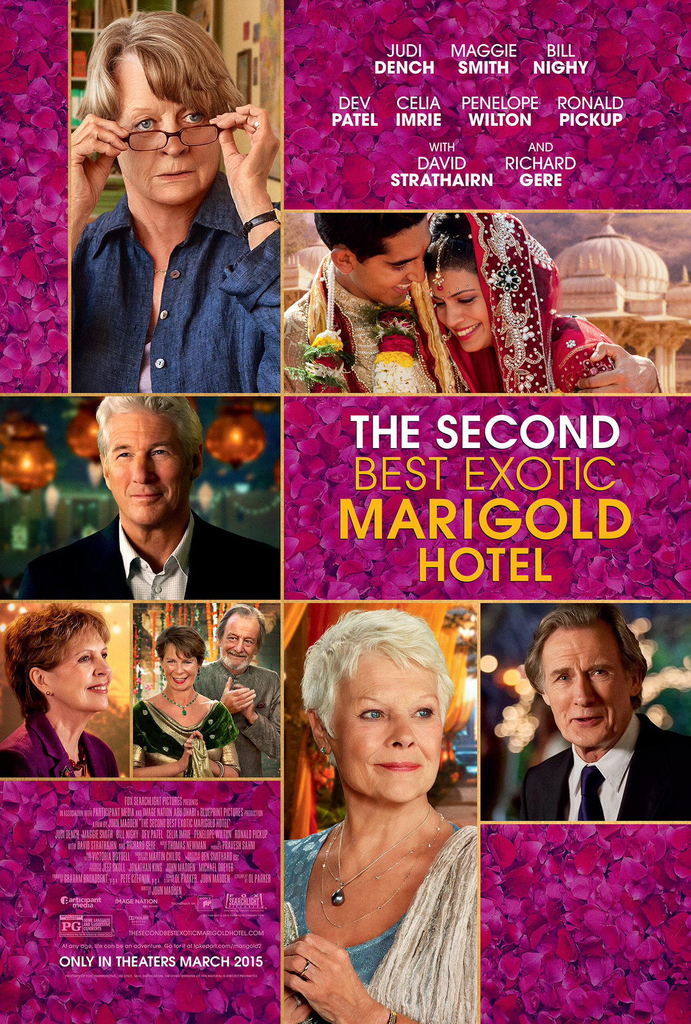The Second Best Exotic Marigold Hotel kapak