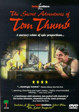 The Secret Adventures of Tom Thumb kapak