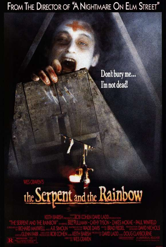 The Serpent and the Rainbow kapak