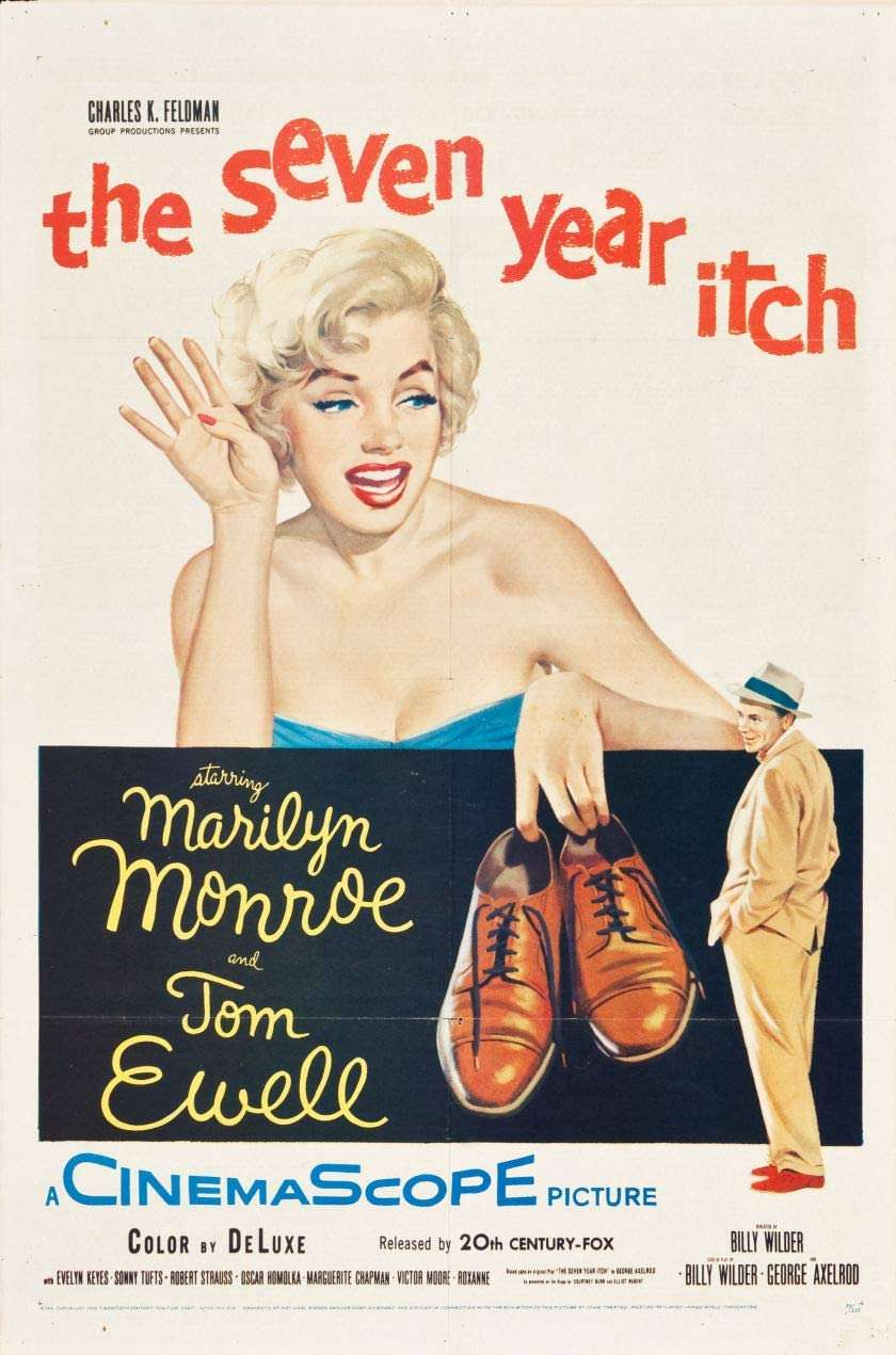 The Seven Year Itch kapak