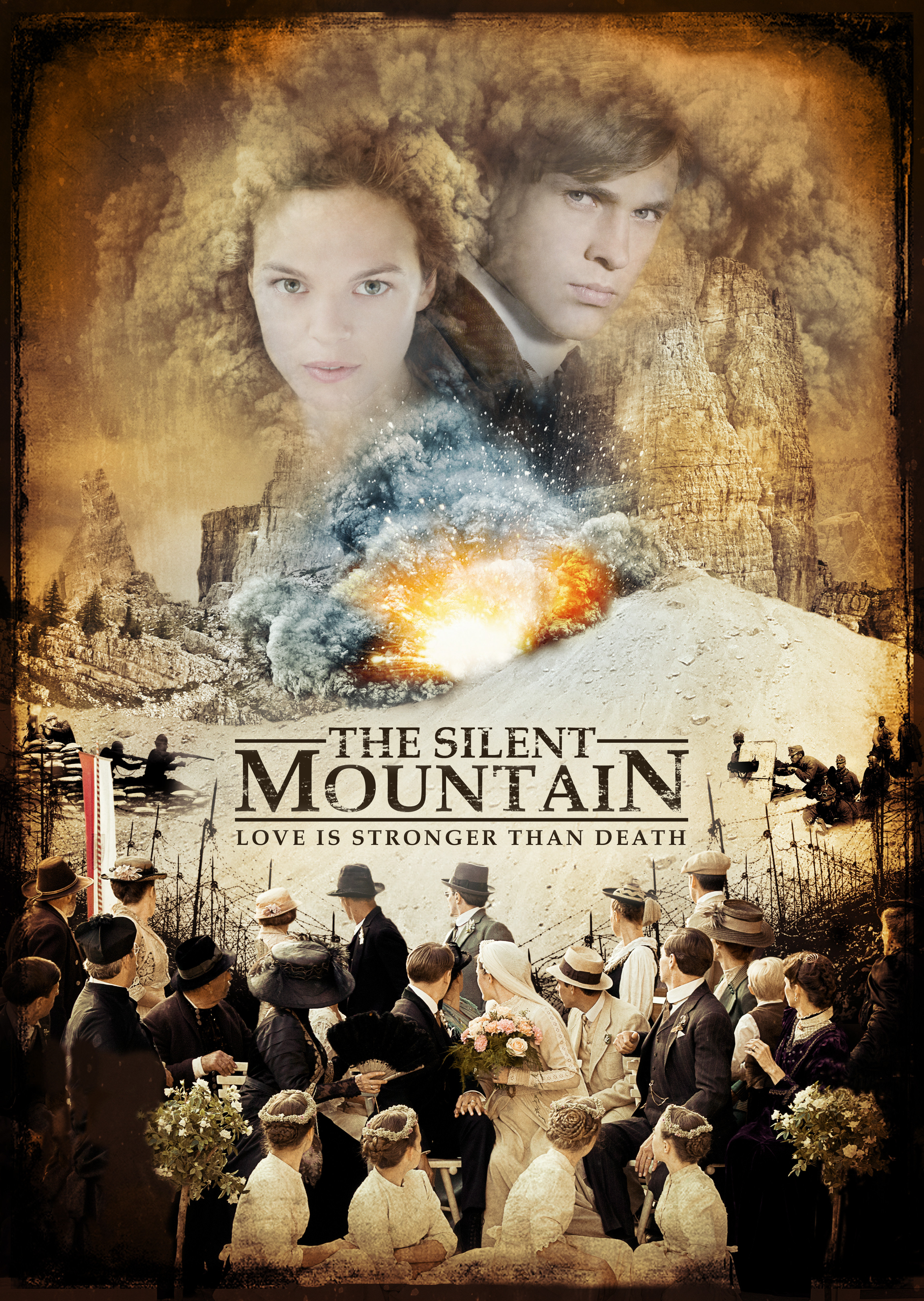 The Silent Mountain kapak