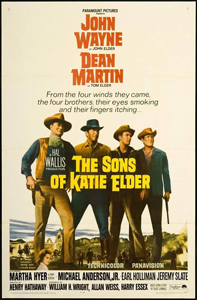 The Sons of Katie Elder kapak