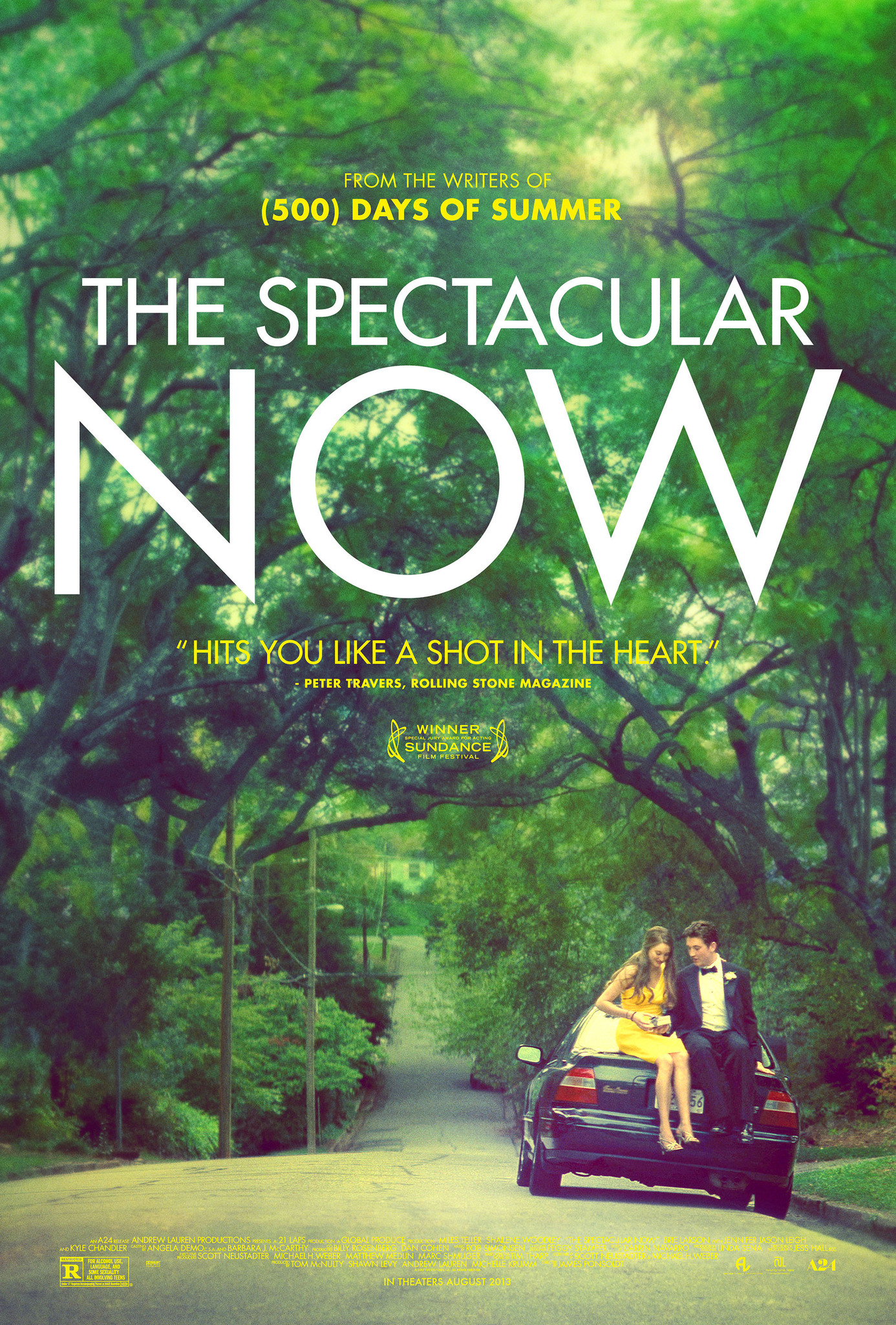 The Spectacular Now kapak
