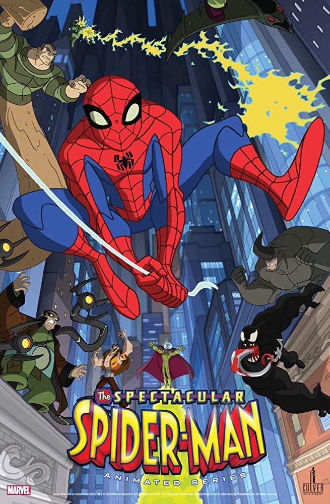 The Spectacular Spider-Man kapak