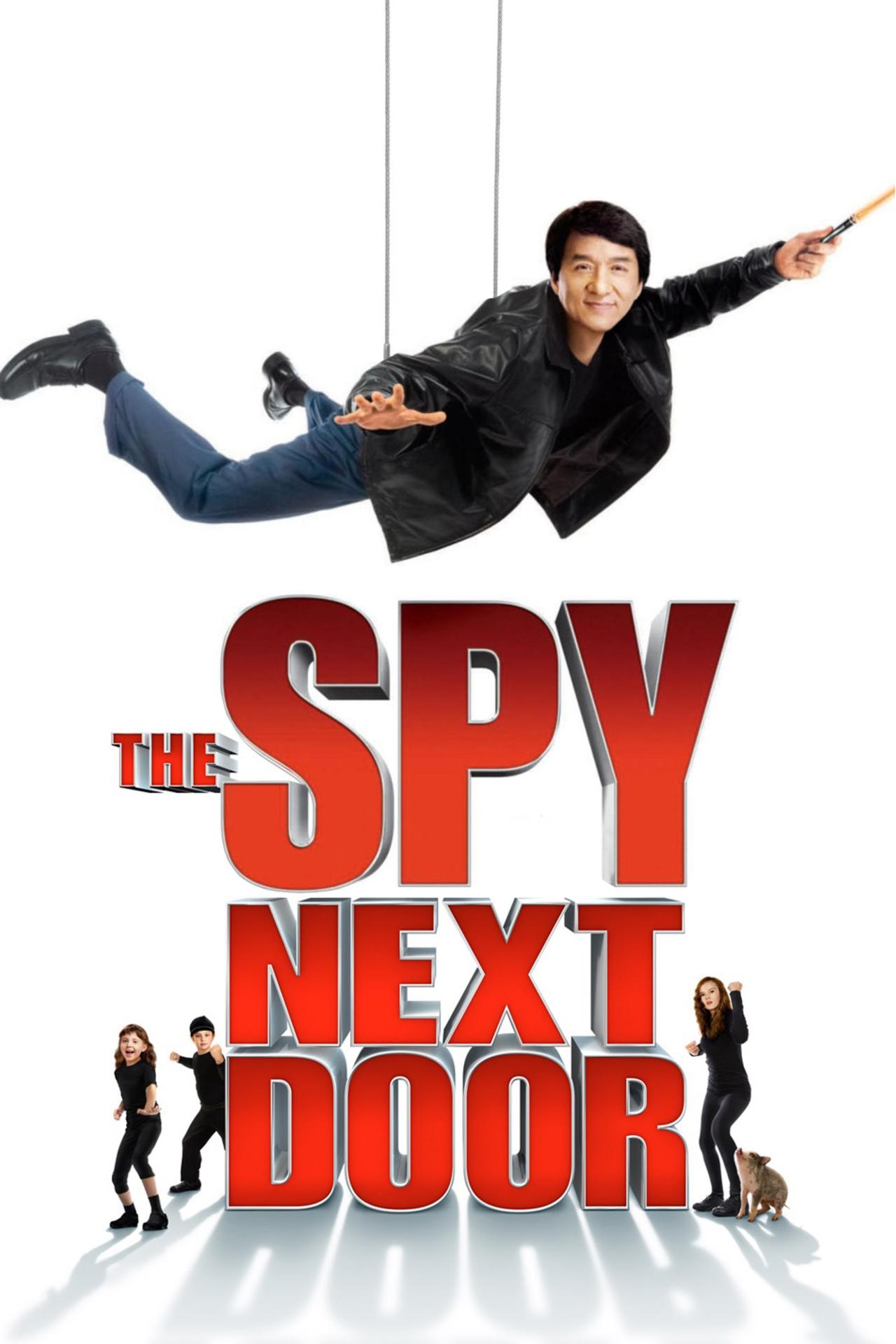 The Spy Next Door kapak