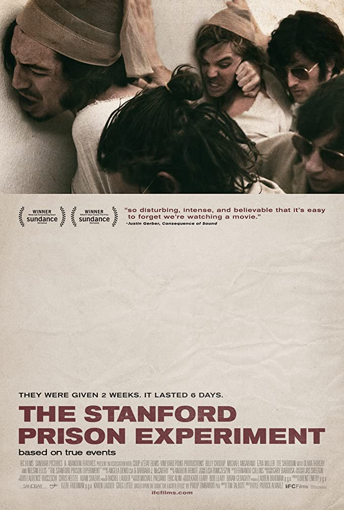 The Stanford Prison Experiment kapak