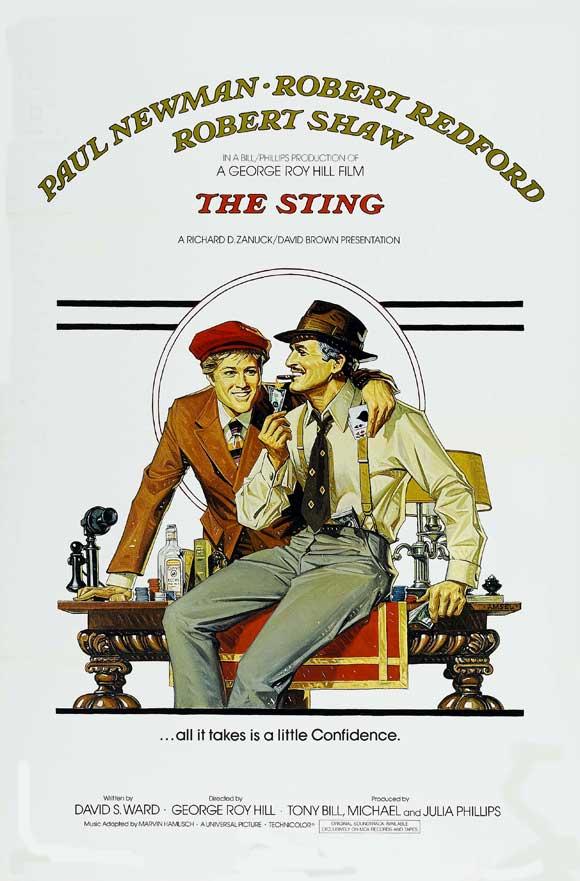 The Sting kapak