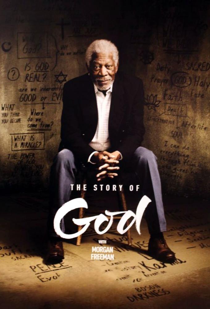 The Story of God with Morgan Freeman kapak