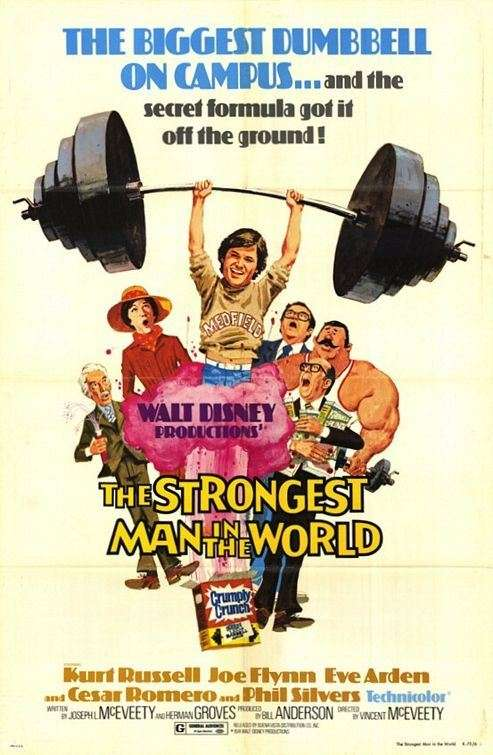 The Strongest Man in the World kapak