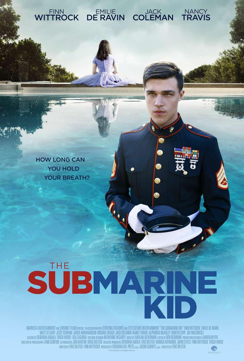 The Submarine Kid kapak