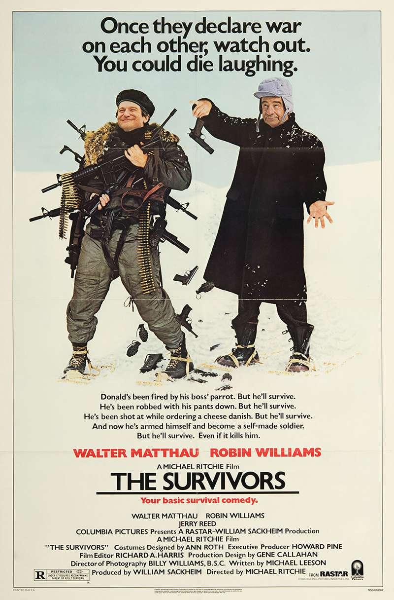 The Survivors kapak