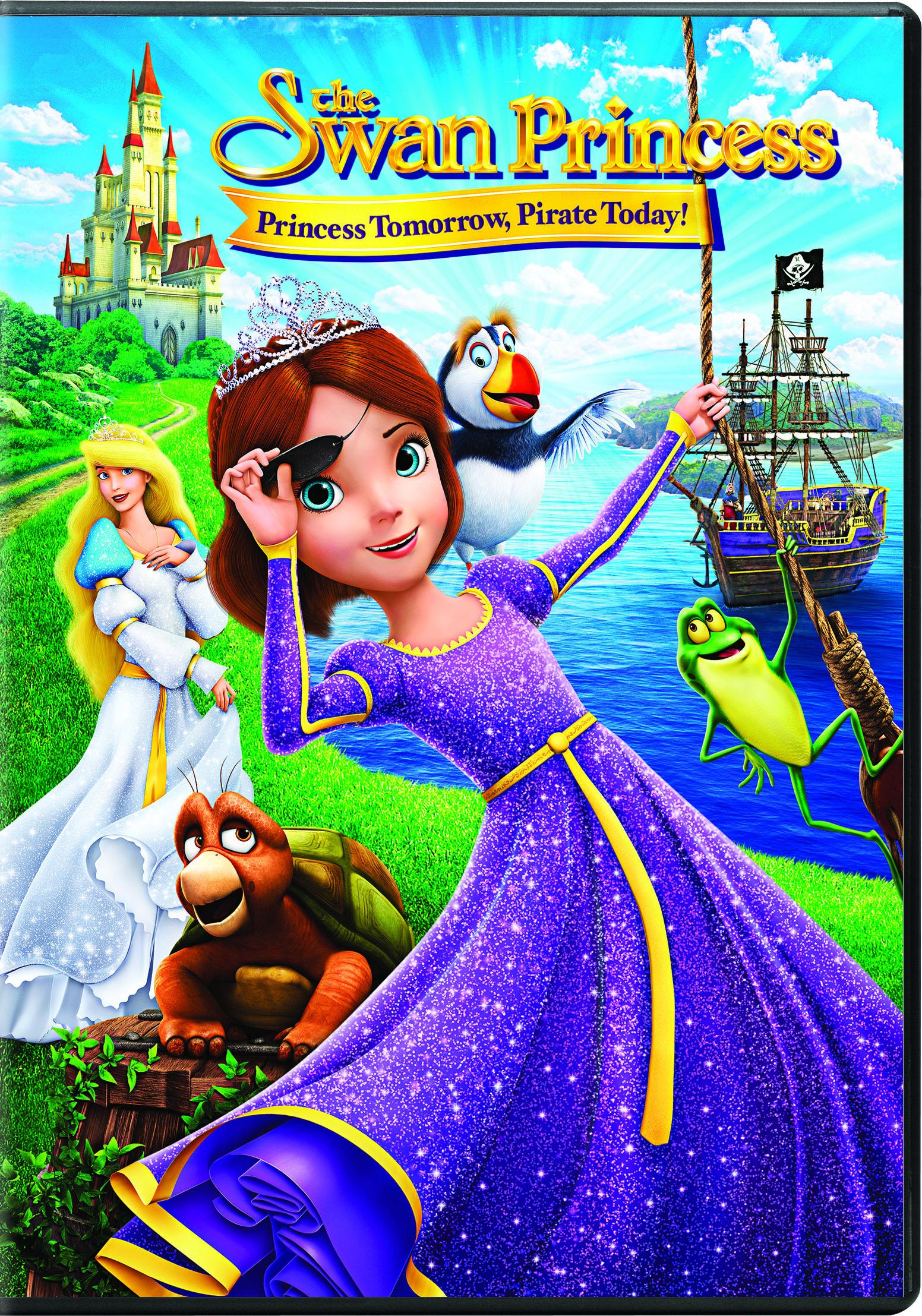 The Swan Princess: Princess Tomorrow, Pirate Today! kapak
