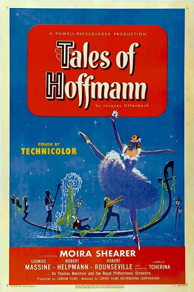 The Tales of Hoffmann kapak