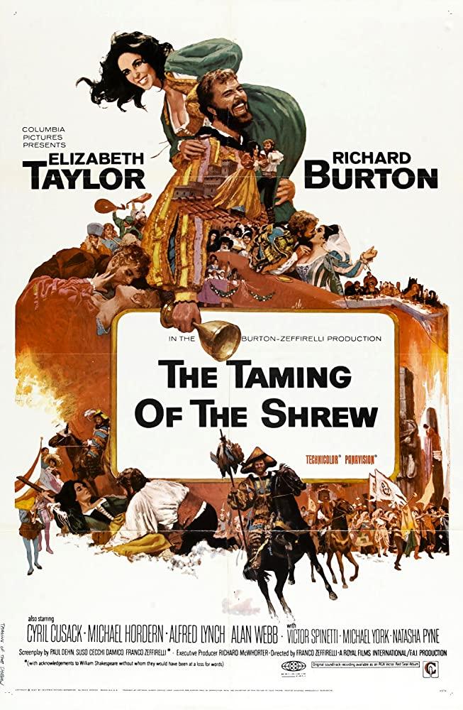 The Taming of the Shrew kapak
