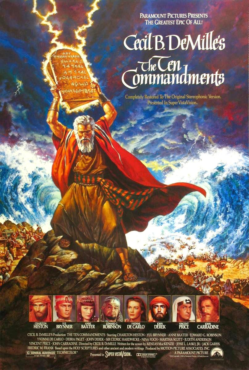 The Ten Commandments kapak