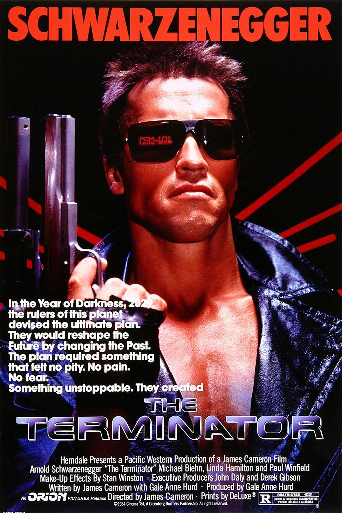 The Terminator kapak