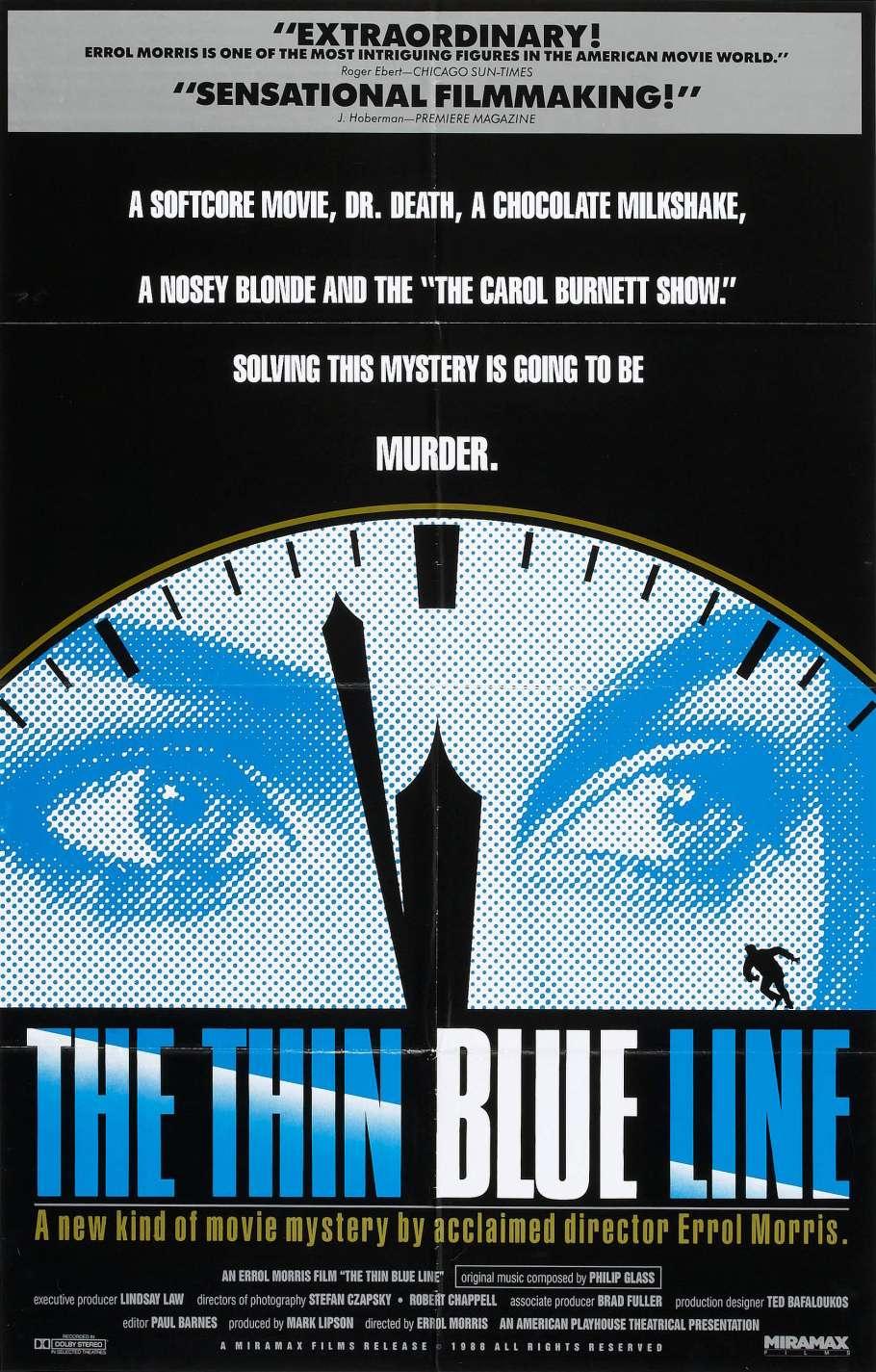 The Thin Blue Line kapak