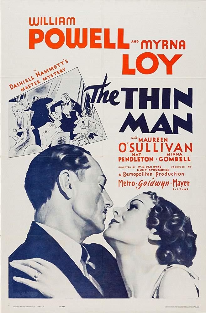 The Thin Man kapak
