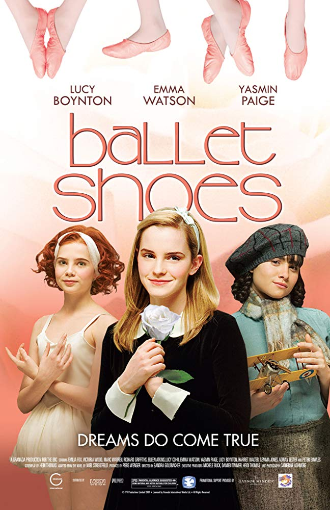 Ballet Shoes kapak