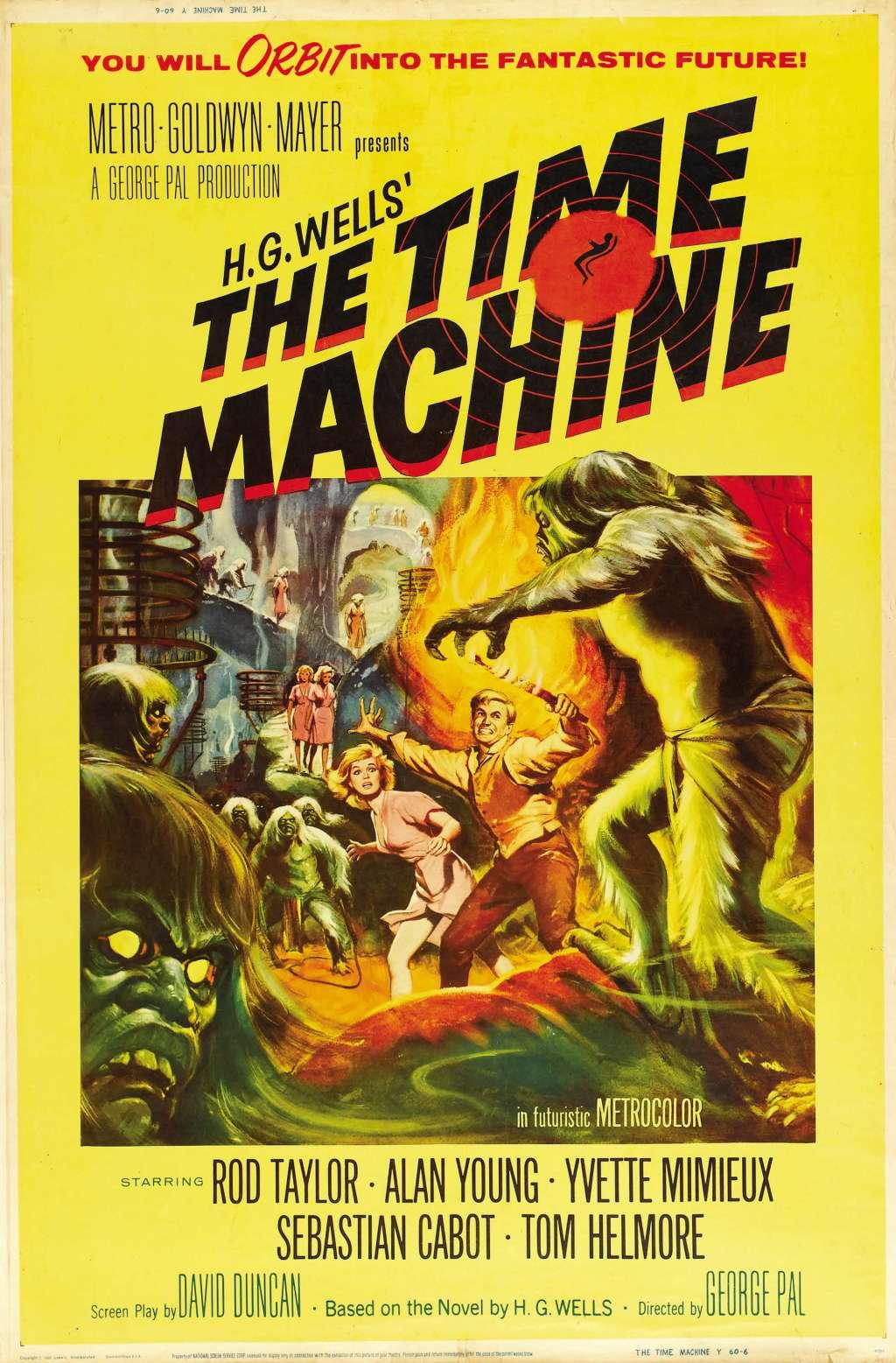 The Time Machine kapak