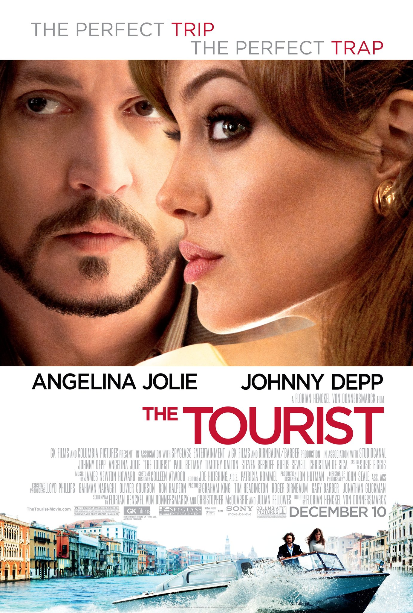 The Tourist kapak